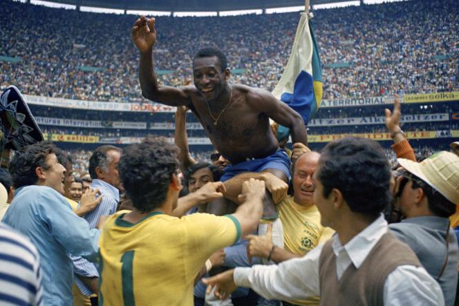 Sports bresil 2014 Pele bresil 1970