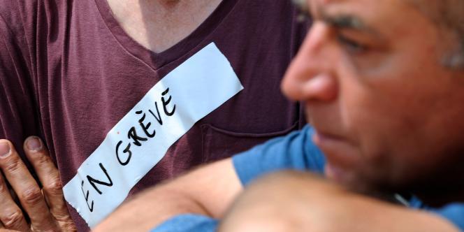 La grève a été reconduite au Printemps des Comédiens, festival montpelliérain qui s'achève dimanche 29 juin et aura vu quasiment toutes ses représentations annulées depuis le début du mois en raison du mouvement des intermittents.