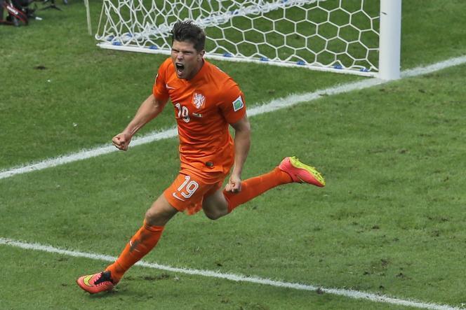 Klaas-Jan Huntelaar a inscrit le pénalty victorieux de son équipe.