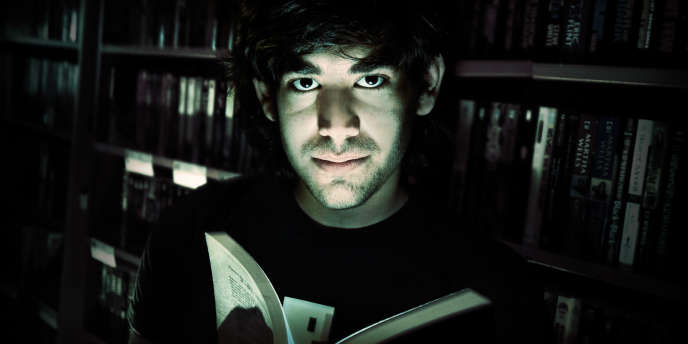 Affiche de « The Internet's Own Boy », le documentaire consacré à Aaron Swartz.