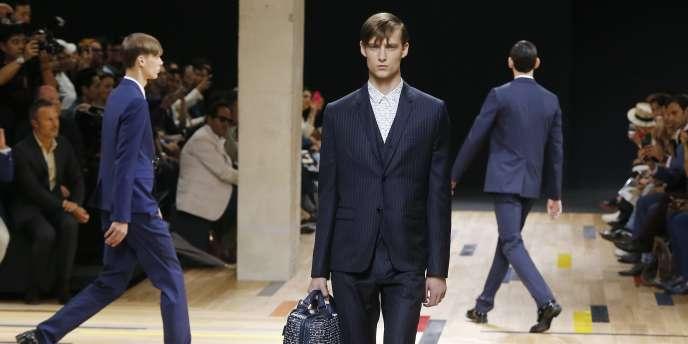 Défilé Dior homme collection printemps-été 2015, samedi28juin.