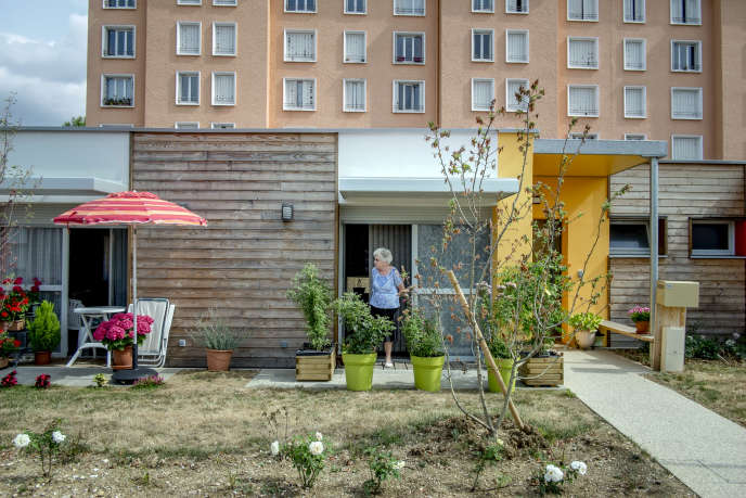 L'un des 24 logements d'un lotissement intégralement de plain-pied à Dijon.
