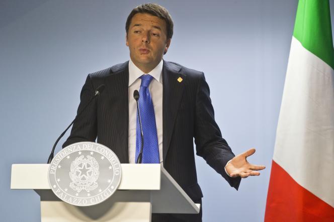 Le chef du gouvernement italien, Matteo Renzi, arrivé au pouvoir en février, a annoncé une ambitieuse réforme du marché du travail et de la fiscalité visant à relancer la croissance.