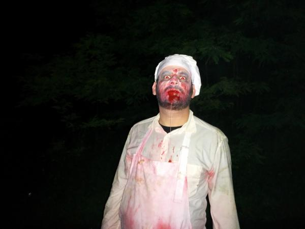 Le classique mais terrifiant boucher zombie.