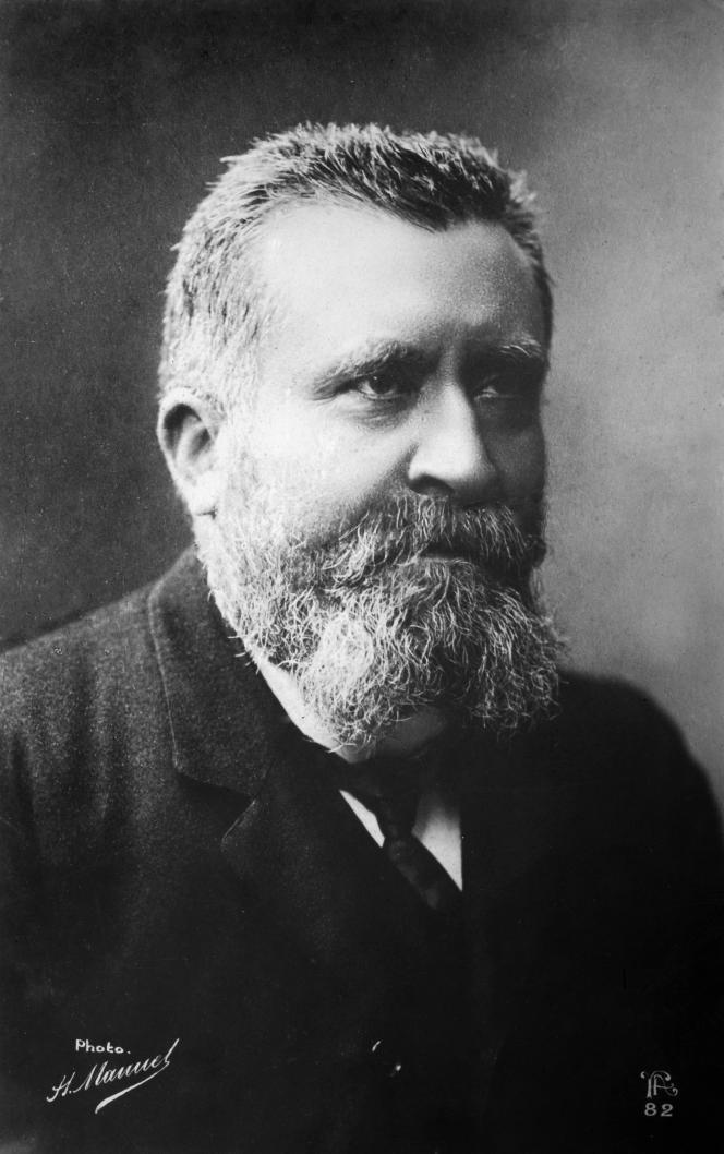 Jean Jaurès (1859-1914).