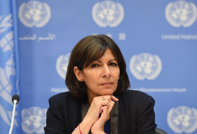 Anne Hidalgo, maire socialiste de Paris, le 29 mai.