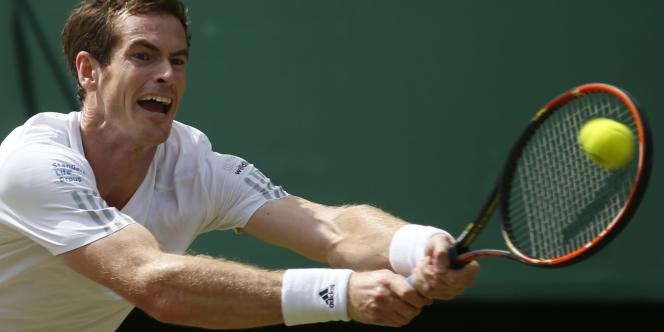 Andy Murray s'est incliné en trois sets en quarts de finale, mercredi 2 juillet.