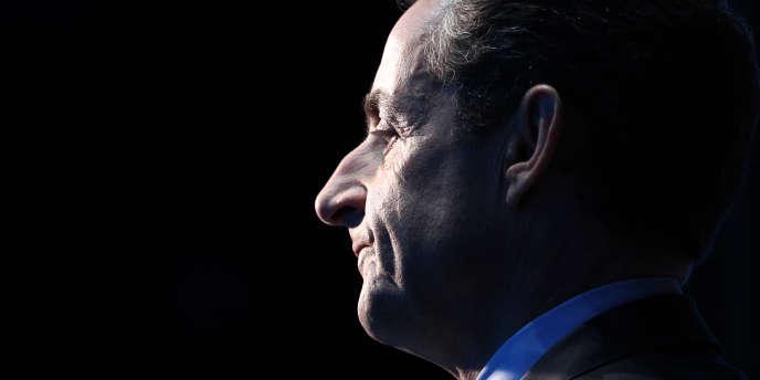 Nicolas Sarkozy le 3 mai 2012.