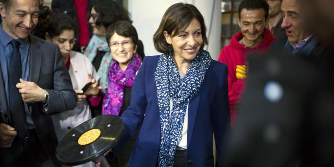 Anne Hidalgo, maire socialiste de la capitale, a lancé le premier budget participatif de Paris le 2 juillet.
