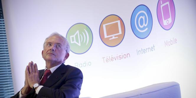 Olivier Schrameck, président du Conseil supérieur de l'audiovisuel, le 11 février, à Paris.