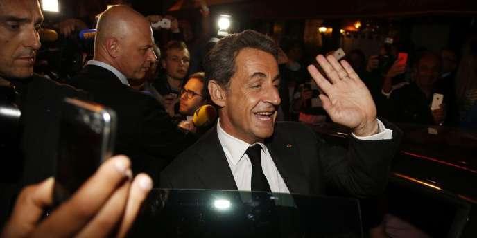 A la question de savoir s'ils souhaitent que Nicolas Sarkozy se présente à l'élection présidentielle de 2017, 65 % des Français interrogés ont répondu «non ».