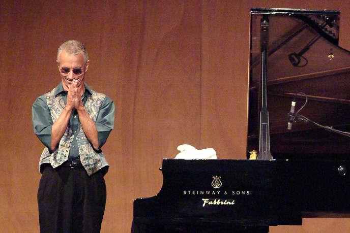 Le pianiste Keith Jarrett en concert à Venise en 2006.