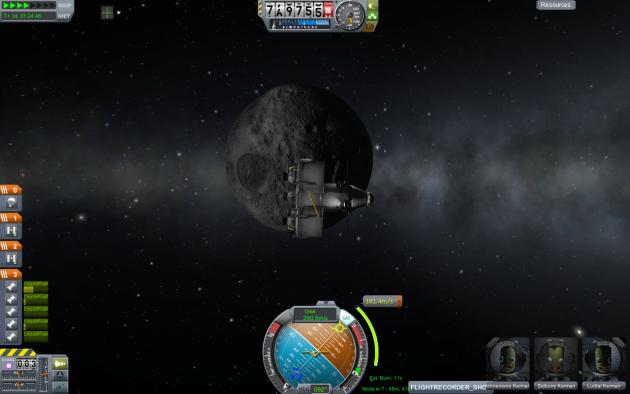 Une illustration du jeu Kerbal Space Program.