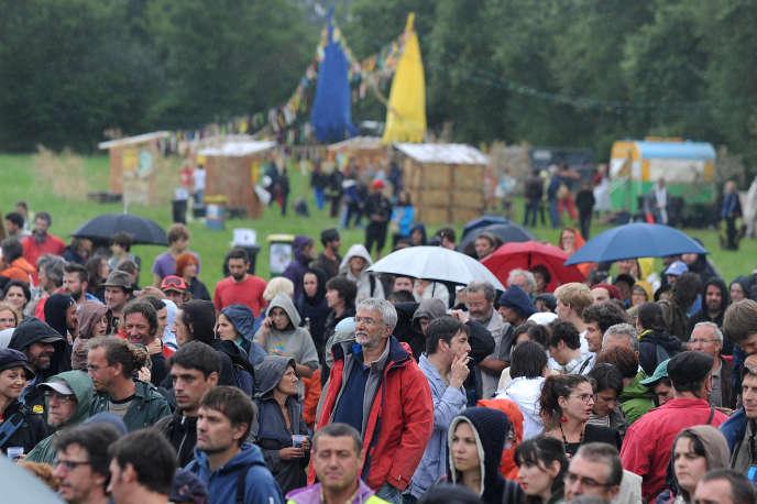 Un festival de musique a été organisé à Notre Dame des Landes, le 5 juillet.