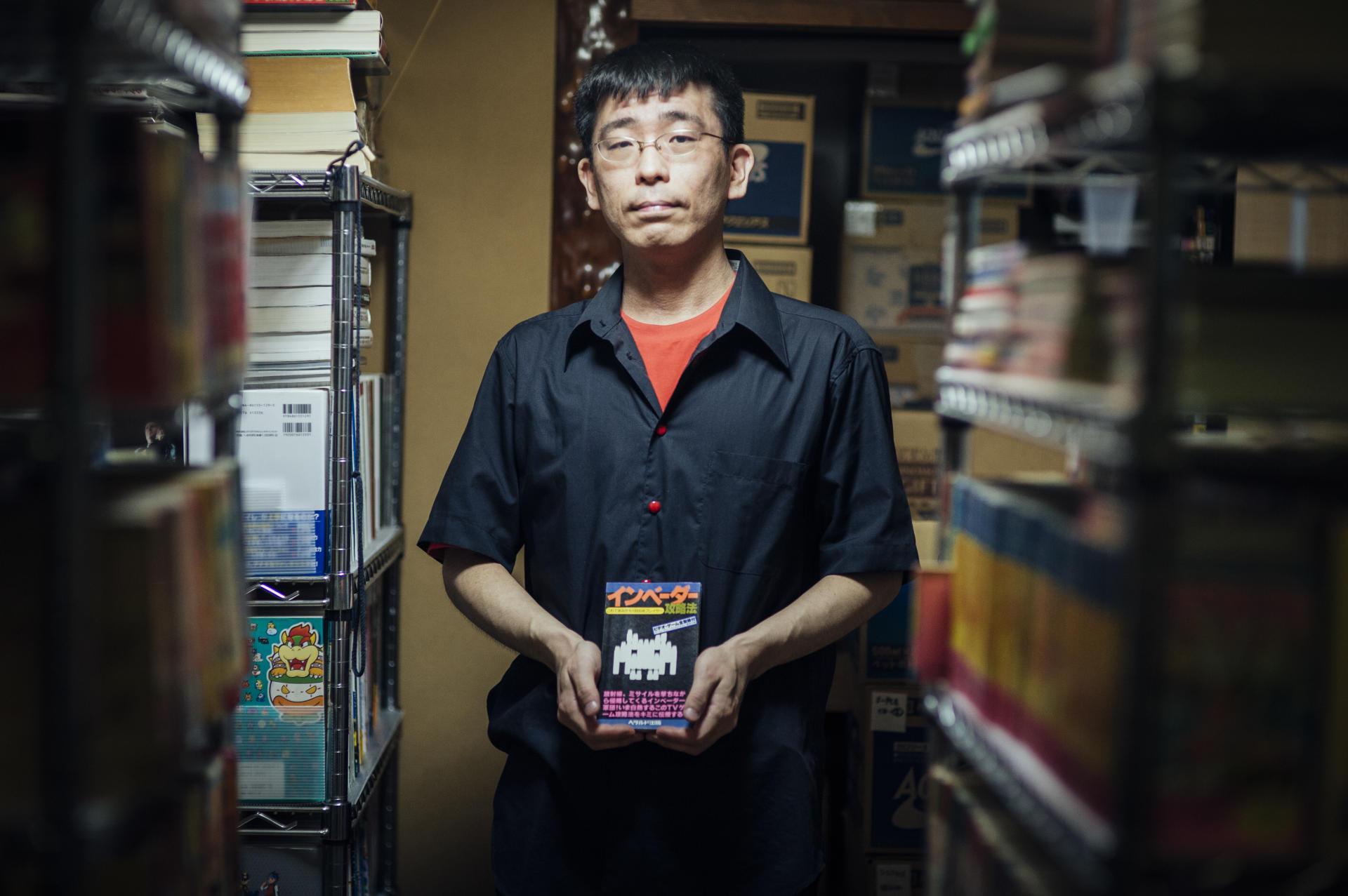 Mastubara Keigo est membre de l'association, et collectionne tous les magazines et livres en lien avec les jeux vidéo japonais.