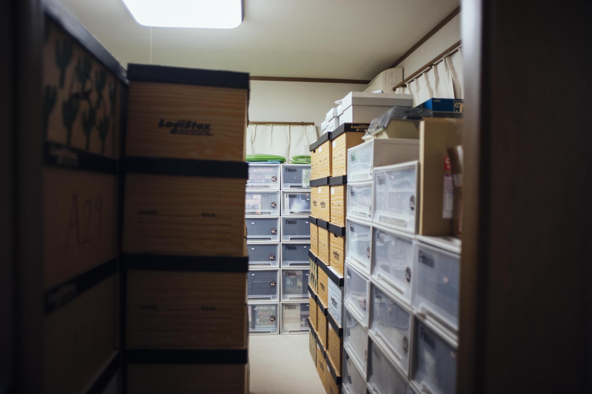 La salle des archives commence à être trop petite dans la maison de l'association.