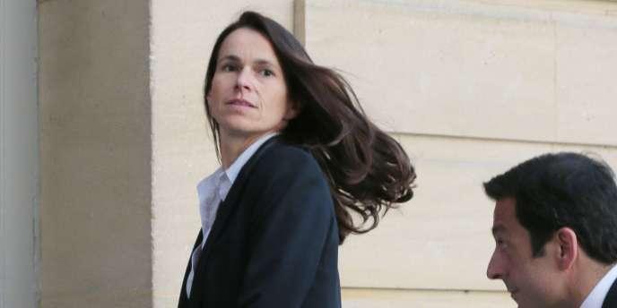 Aurelie Filippetti  à Paris, le 19 juin.