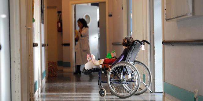 A l'hôpital de Garches, en décembre2010 (photo d'illustration).