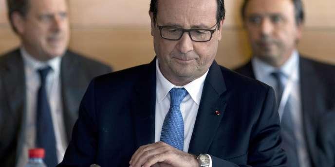 François Hollande lors de la troisième conférence sociale, le 7 juillet à Paris.
