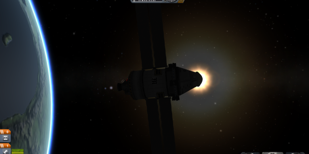Une illustration du jeu Kerbal Space Program