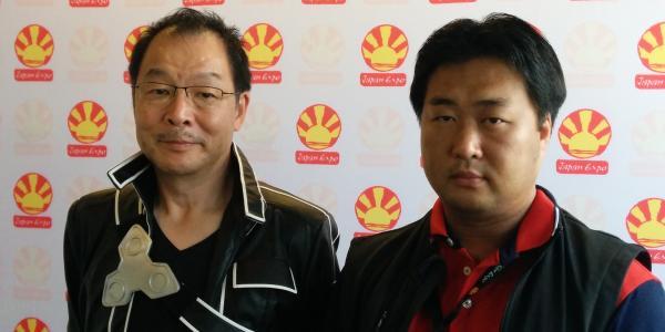 Masuo Ueda et Shinichiro Kashiwada.