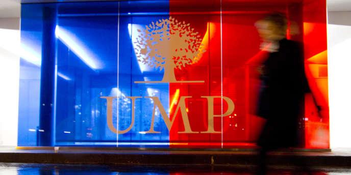 Le siège de l'UMP, à Paris, en novembre2012.