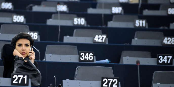 Rachida Dati au Parlement européen enjuillet2009.