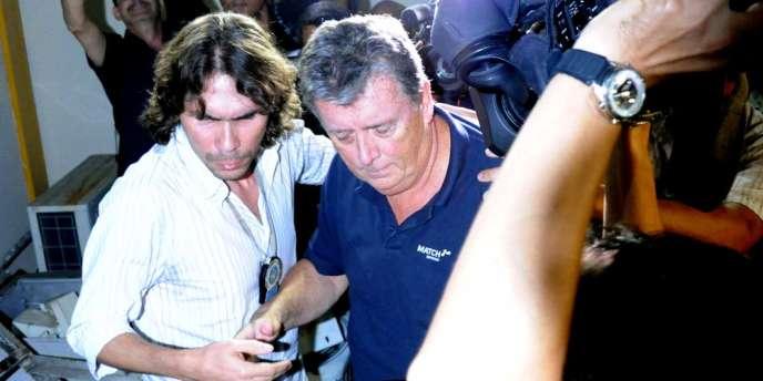 Ray Whelan, un directeur de Match Hospitality, société qui fournit les forfaits VIP de la Coupe du monde, a été arrêté lundi à Rio.