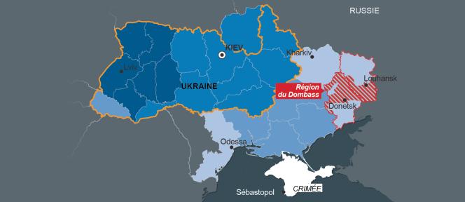 Quatre carte pour mieux comprendre la crise en Ukraine.