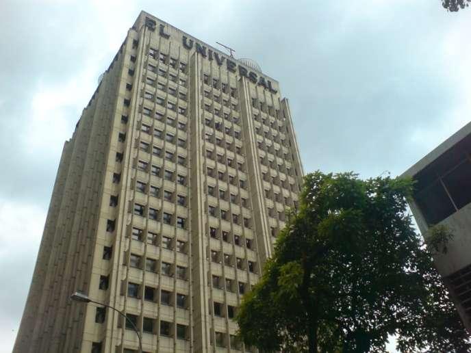 Le siège du quotidien El Universal à Caracas.