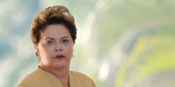 Dilma Rousseff, le 19 juin.
