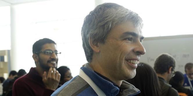 Le cofondateur de Google, Larry Page, le 25 juin 0 San Francisco.