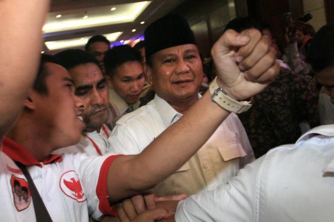 Prabowo Subianto, le 9 juillet à Djakarta.