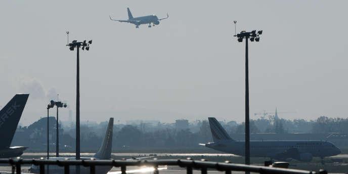 A l'aéroport de Toulouse-Blagnac, en novembre2013.
