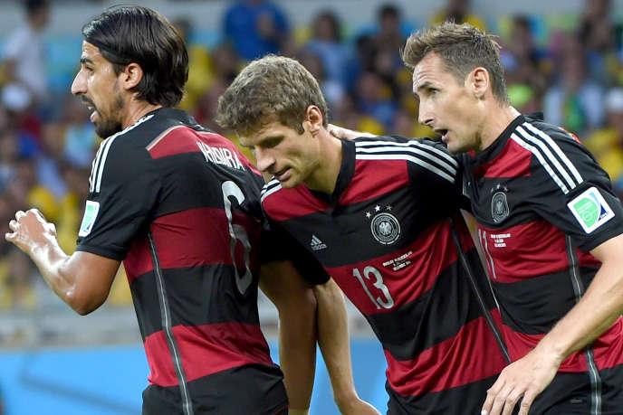 Sport Bresil 2014 Allemagne attaque