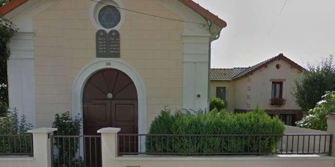 La synagogue de la rue Clermont-Tonnerre, à Aulnay-sous-Bois.