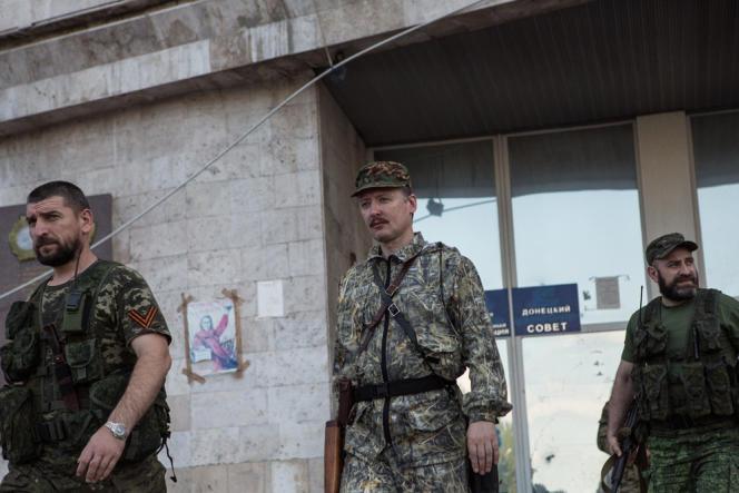 Igor Strelkov, le chef militaire le plus influent des combattants prorusses de la