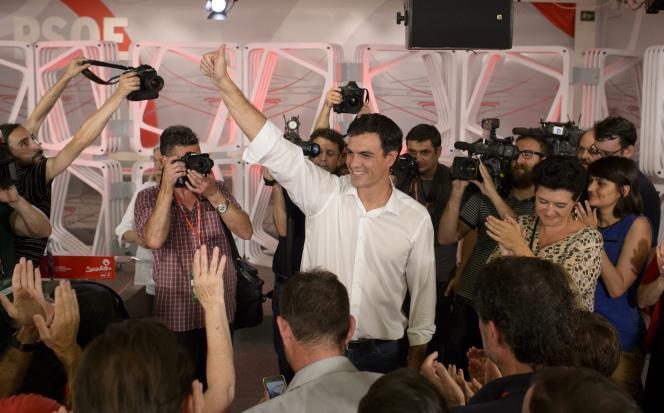 Pedro Sanchez, le 13 juillet à Madrid.