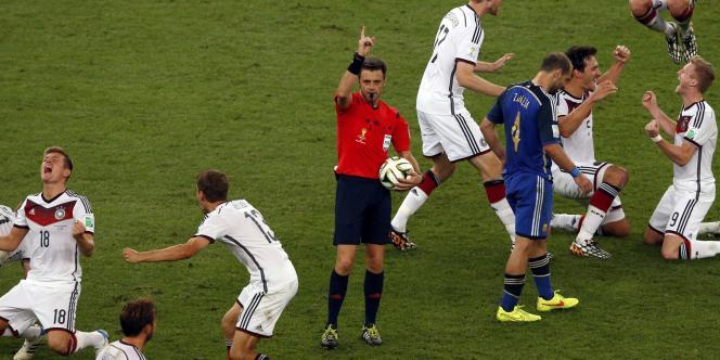 Nicola Rizzoli, l'arbitre de la finale du Mondial.