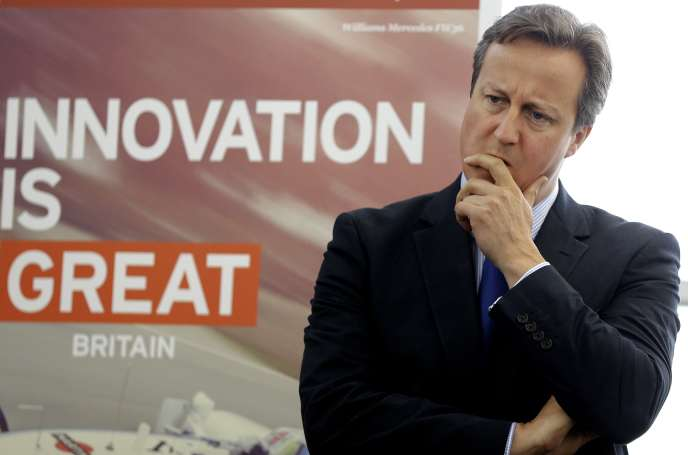David Cameron, le 11 juillet.