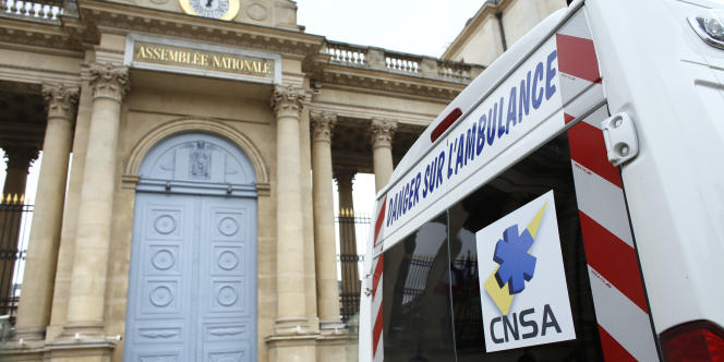 Au début de l'été, les ambulanciers avaient manifesté pour sensibiliser l'Etat à leurs difficultés financières.