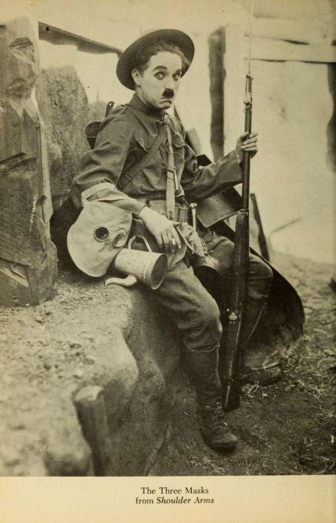Charlot soldat (1916).