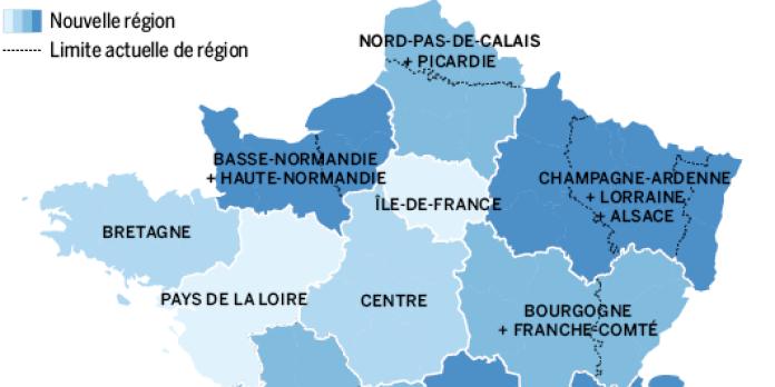Reforme Territoriale Une Nouvelle Carte Qui Suscite La Colere