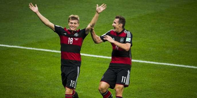 Le champion du monde allemand Toni Kroos signe au Real Madrid
