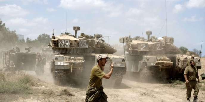 Après dix jours de bombardements, plus de 230morts et une première trêve rejetée par le Hamas, les deux camps discutent actuellement en Egypte.