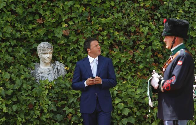Matteo Renzi, le 4 juillet à Rome.
