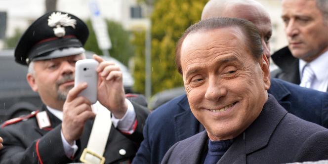 Silvio Berlusconi, le 25 mars à Rome.
