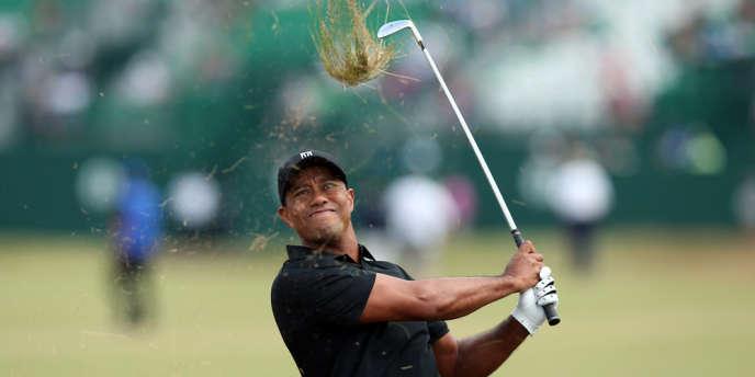 Tiger Woods, le 18juillet2014.