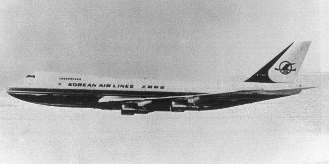 Un Boeing 747 de la Korean Air Line identique à celui abattu par l'aviation soviétique en 1983.