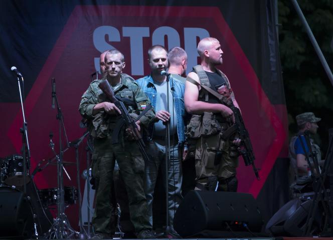 Alexandre Borodaï, le 13 juillet à Donetsk.